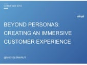 Beyond Personas: Creating an Immersive Customer Experience
