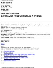 Marx capital vol_3