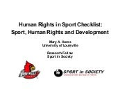 Mary hums  human rights in sport ch...