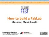 How to build a FabLab @ OuiShare Fe...