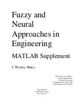 Fuzzy and Neural Approaches in Engi...