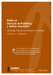 Master en Dirección de Marketing y ...