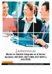 Master gestión integrada en sector ...