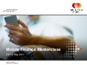 Mastercard camerjam mobile finance ...