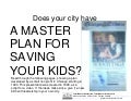 Master plan for saving Chicago youth - 1998 version