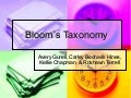 Mat 604   - bloom's taxonomy power point presentation