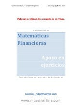 Matemáticas financieras mf04820