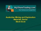 Metals, Mining and Exploration - Ma...