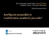 Mathematical figures accessibility ...