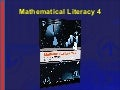 NCV 4 Mathematical Literacy Hands-On Support Slide Show - Module 4