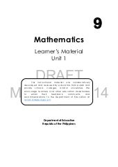 Mathematics 9