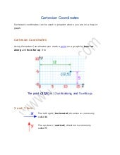 Math Lecture 11 (Cartesian Coordina...