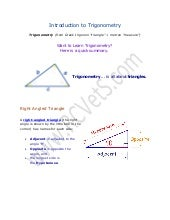 Math lecture 8 (Introduction to Tri...