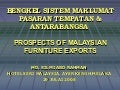 Matrade prospect of malaysian furniture