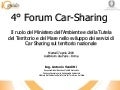 Presentazione Antonio Venditti Forum Car Sharing