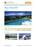 Maui villa 810,Hawaii