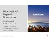 Max2006 Flash Lite Development For ...