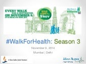 Max Bupa Walk For Health 2014 Social Media Strategy