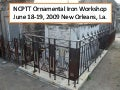 Overview Of NCPTT's Ornamental Iron Workshop