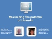 Maximising the potential of LinkedIn
