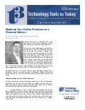 Maximize your online presence as a financial advisor - reprint from t3 newsletter