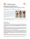 Maximizing  Performance for  Fast  Fashion