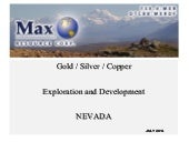 MAX Resource Corp video