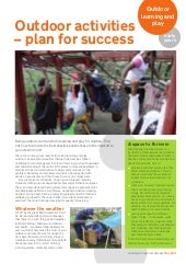 Outdoor Activities, Plan for Succes...