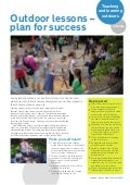 Outdoor Lessons, Plan for Success: Teaching and Learning Outdoors