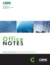 May 2011 Office Notes