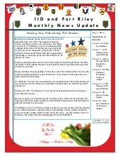 May 2012 1ID Fort Riley Monthly New...