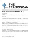 The Franciscan - May 2013