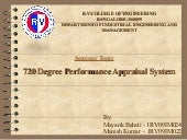 720 degree performance appraisal