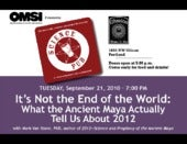 What the Ancient Maya Actually Tell...