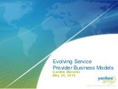 Evolving Service Provider Business ...