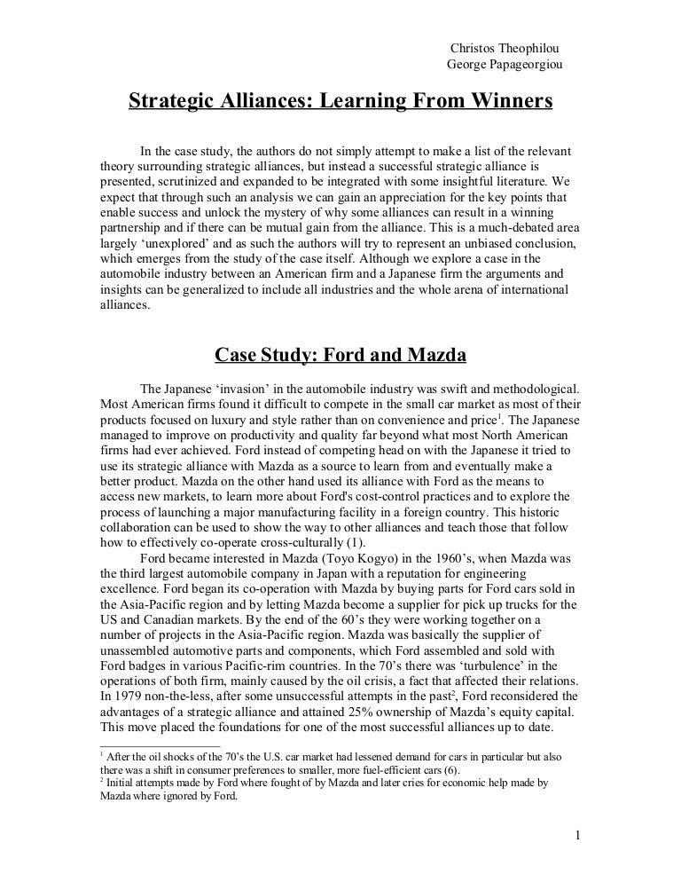 Case study essay conclusions