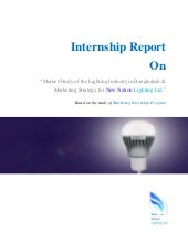 MBA Internship Report