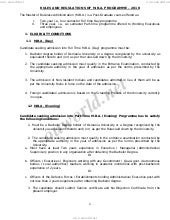 Osmania University Mba syllabus 2013