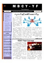 MBCY-YF Newsletter vol 1, issue 6