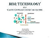 Membrane Bioreactor Technology - An...