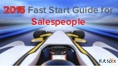 2015 Fast Start Guide for Salespeople