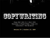 MCAD 2009 - Copywriting :: Session ...