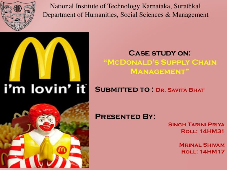 mcdonalds change management case study This chapter covers the topics of organizational change and change management and continues with quality management systems and the barriers to the implementation of a quality management system.