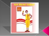 McDonalds Application