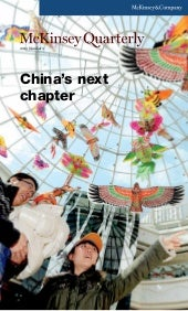 China's next chapter by McKinsey Qu...