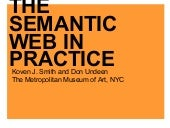 The Semantic Web in Practice: A Cas...