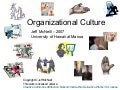 McNeill (2007) Hofstede's Organizational Culture Dimensions