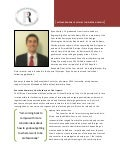 Named Internship Profile Summary - Ryan Shelley (McSpadden)