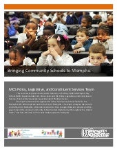 Bringing Community Schools to Memphis