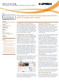 MD Anderson Social Media Monitoring Case Study